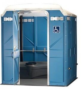 wheelchair accessible portable restroom des moines